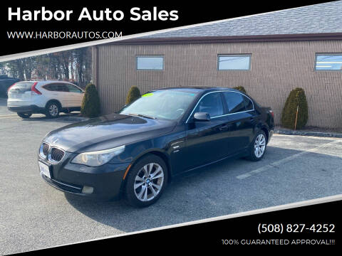 2009 BMW 5 Series for sale at Harbor Auto Sales in Hyannis MA