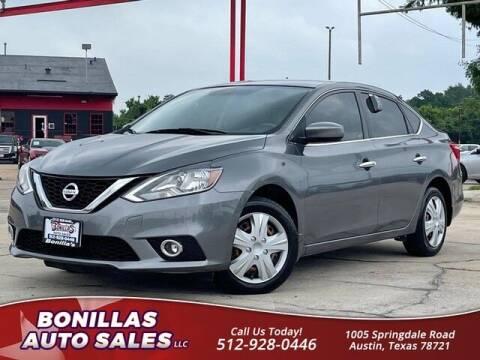2017 Nissan Sentra for sale at Bonillas Auto Sales in Austin TX