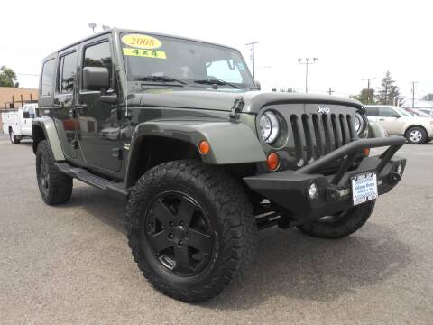 2008 Jeep Wrangler Unlimited for sale at McKenna Motors in Union Gap WA