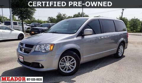 2019 Dodge Grand Caravan for sale at Meador Dodge Chrysler Jeep RAM in Fort Worth TX