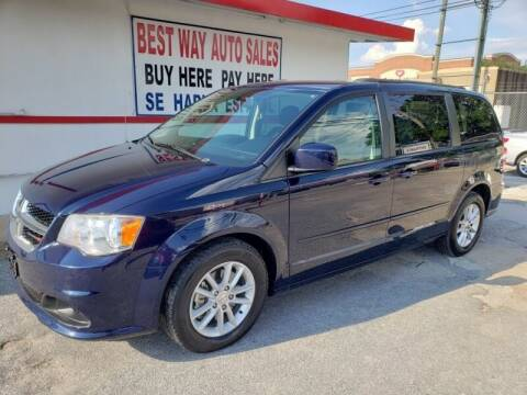 2014 Dodge Grand Caravan for sale at Best Way Auto Sales II in Houston TX