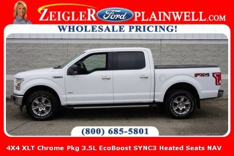 2017 Ford F-150 for sale at Zeigler Ford of Plainwell- Jeff Bishop in Plainwell MI