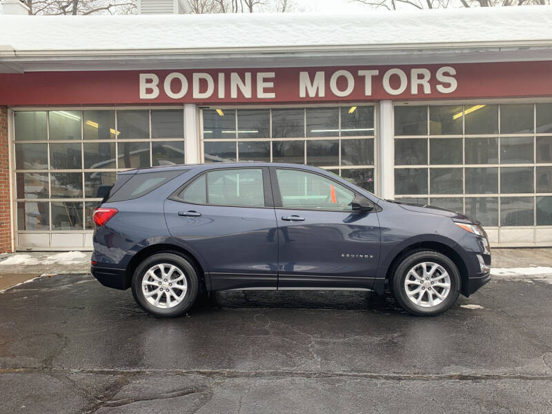2018 Chevrolet Equinox for sale at BODINE MOTORS in Waverly NY