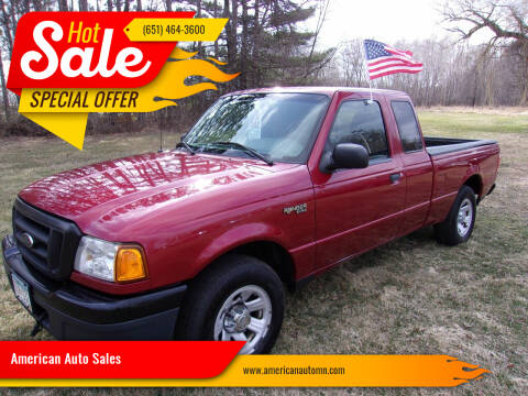2005 Ford Ranger for sale at American Auto Sales in Forest Lake MN