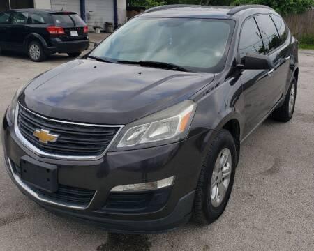 2014 Chevrolet Traverse for sale at Apex Auto SA in San Antonio TX