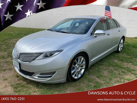 2014 Lincoln MKZ for sale at Dawsons Auto & Cycle in Glen Burnie MD