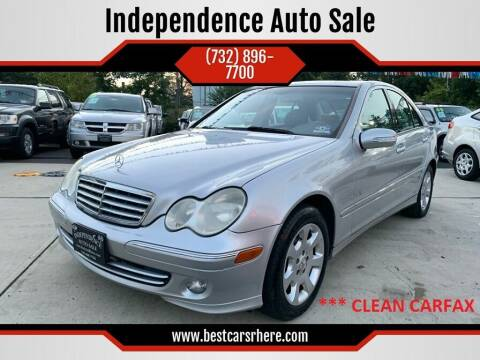 2005 Mercedes-Benz C-Class for sale at Independence Auto Sale in Bordentown NJ