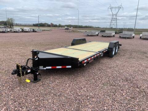 2021 Midsota TB-22 Split Tilt #4414 for sale at Prairie Wind Trailers, LLC in Harrisburg SD