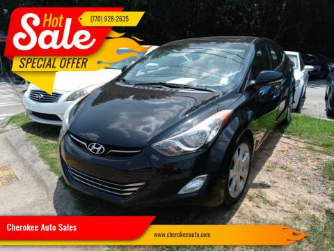 2013 Hyundai Elantra for sale at Cherokee Auto Sales in Acworth GA
