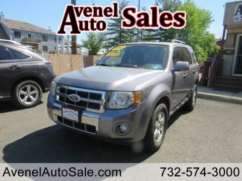 2008 Ford Escape for sale at Avenel Auto Sales in Avenel NJ
