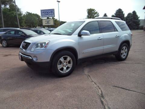 2009 GMC Acadia for sale at Budget Motors - Budget Acceptance in Sioux City IA