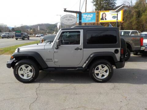 2013 Jeep Wrangler for sale at EAST MAIN AUTO SALES in Sylva NC
