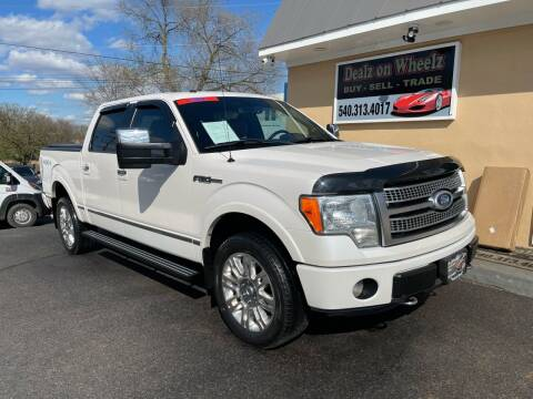 2011 Ford F-150 for sale at DEALZ ON WHEELZ in Winchester VA