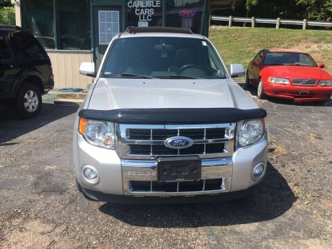 2012 Ford Escape for sale at Carlisle Cars in Chillicothe OH