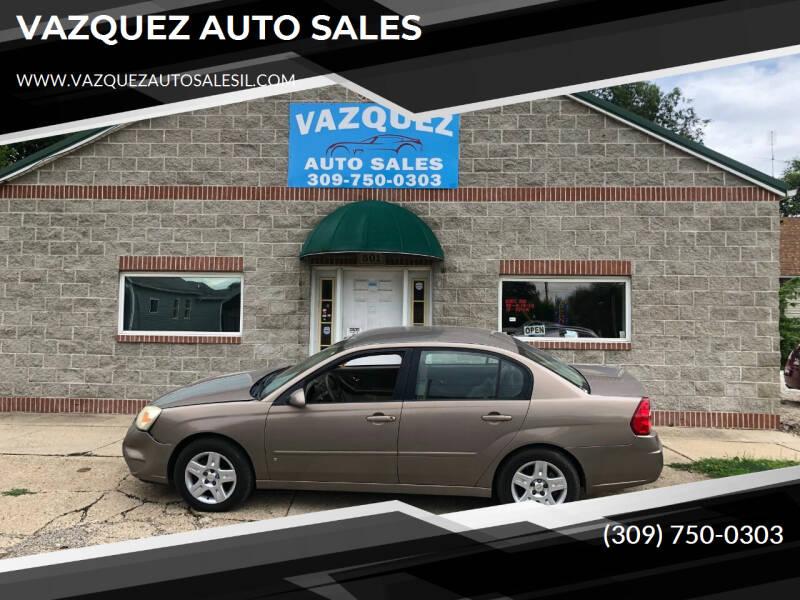 2008 Chevrolet Malibu Classic for sale at VAZQUEZ AUTO SALES in Bloomington IL