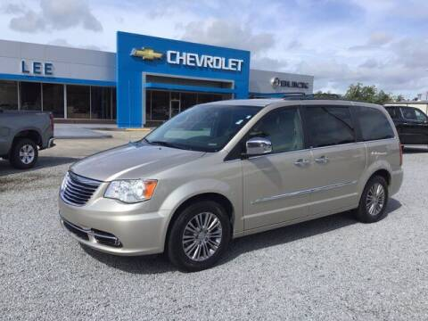 2014 Chrysler Town and Country for sale at LEE CHEVROLET PONTIAC BUICK in Washington NC