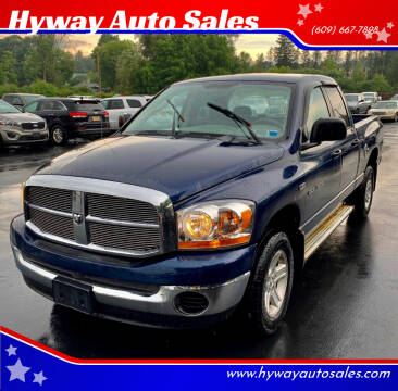 2006 Dodge Ram Pickup 1500 for sale at Hyway Auto Sales in Lumberton NJ