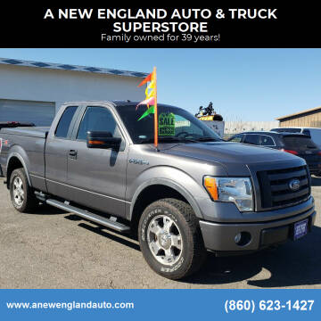 2009 Ford F-150 for sale at A NEW ENGLAND AUTO & TRUCK SUPERSTORE in East Windsor CT