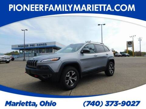 2014 Jeep Cherokee for sale at Pioneer Family preowned autos in Williamstown WV