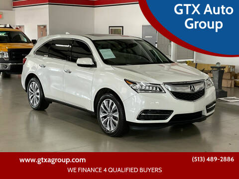 2016 Acura MDX for sale at UNCARRO in West Chester OH