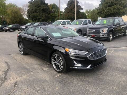 2020 Ford Fusion for sale at WILLIAMS AUTO SALES in Green Bay WI