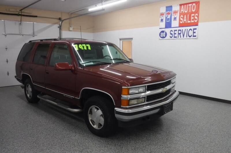 1999 Chevrolet Tahoe for sale at 777 Auto Sales and Service in Tacoma WA