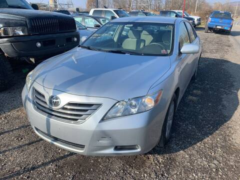 2007 Toyota Camry Hybrid for sale at Trocci's Auto Sales in West Pittsburg PA