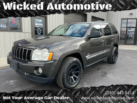 2006 Jeep Grand Cherokee for sale at Wicked Automotive in Fort Wayne IN