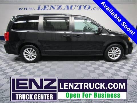 2014 Dodge Grand Caravan for sale at LENZ TRUCK CENTER in Fond Du Lac WI