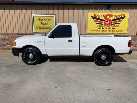 2004 Ford Ranger for sale at BIG 'S' AUTO & TRACTOR SALES in Blanchard OK