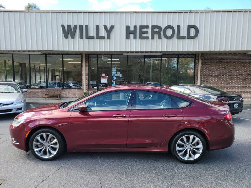 2016 Chrysler 200 for sale at Willy Herold Automotive in Columbus GA