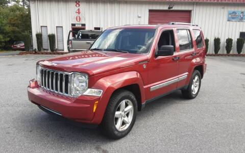 2008 Jeep Liberty for sale at Mathews Used Cars, Inc. in Crawford GA