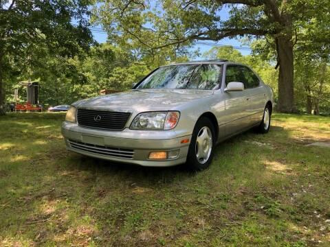 1999 Lexus LS 400 for sale at SODA MOTORS AUTO SALES LLC in Newport RI