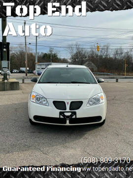 2008 Pontiac G6 for sale at Top End Auto in North Atteboro MA