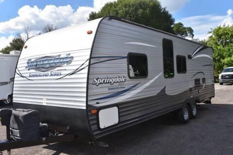 2017 Keystone Springdale for sale at Right Price Auto Sales - Waldo Rvs in Waldo FL