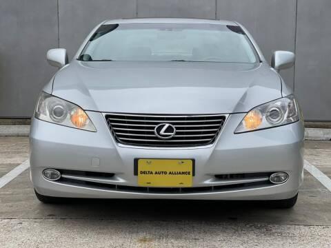 2007 Lexus ES 350 for sale at Delta Auto Alliance in Houston TX