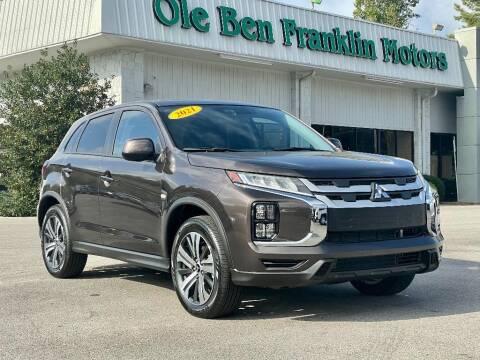 2021 Mitsubishi Outlander Sport for sale at Ole Ben Franklin Motors Clinton Highway in Knoxville TN
