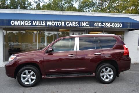 2011 Lexus GX 460 for sale at Owings Mills Motor Cars in Owings Mills MD