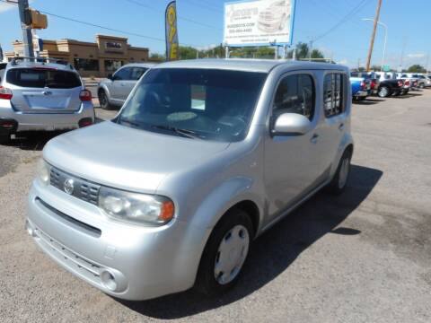 2014 Nissan cube for sale at AUGE'S SALES AND SERVICE in Belen NM