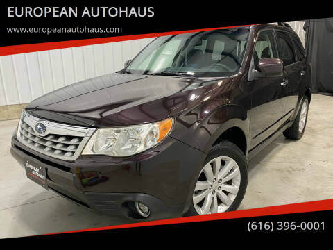2013 Subaru Forester for sale at EUROPEAN AUTOHAUS in Holland MI