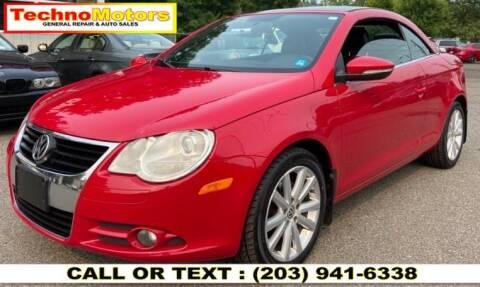 2011 Volkswagen Eos for sale at Techno Motors in Danbury CT