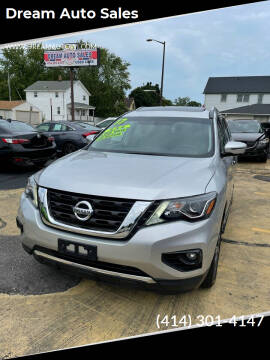 2017 Nissan Pathfinder for sale at Dream Auto Sales in South Milwaukee WI