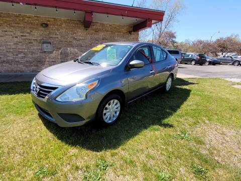 2017 Nissan Versa for sale at Murdock Used Cars in Niles MI