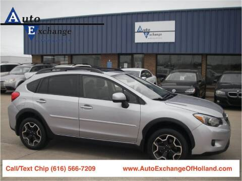 2014 Subaru XV Crosstrek for sale at Auto Exchange Of Holland in Holland MI