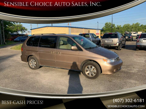 2003 Honda Odyssey for sale at Sensible Choice Auto Sales, Inc. in Longwood FL