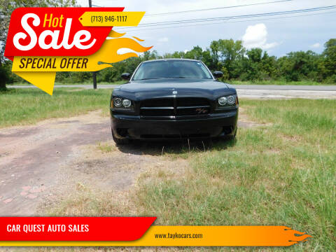2008 Dodge Charger for sale at CAR QUEST AUTO SALES in Houston TX