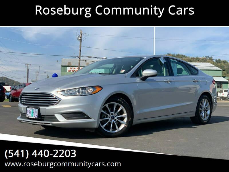 2017 Ford Fusion for sale at Roseburg Community Cars in Roseburg OR