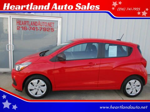 2017 Chevrolet Spark for sale at Heartland Auto Sales in Medina OH