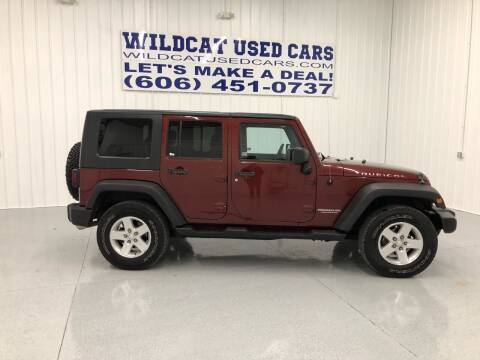 2007 Jeep Wrangler Unlimited for sale at Wildcat Used Cars in Somerset KY
