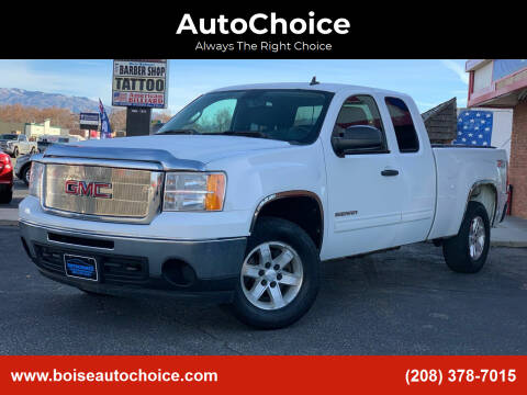 2010 GMC Sierra 1500 for sale at AutoChoice in Boise ID